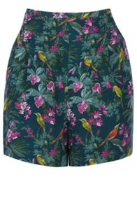 Rainforest Fuschia Print Short
