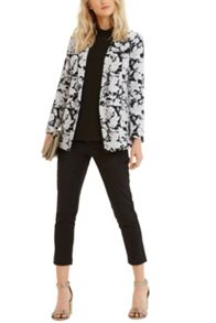 Meadow Sketch Print Jacket