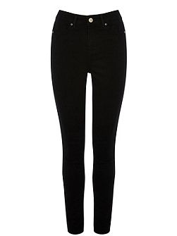 Solid Black Lily Jean