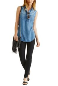 Oasis Solid Black Lily Jean
