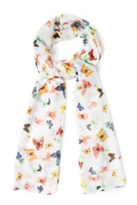 Summer Butterfly Print Scarf