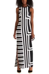 Cut About Stripe Maxi