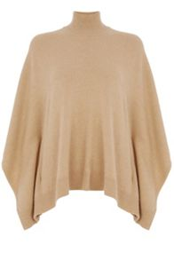 Oasis High Neck Poncho