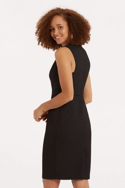 Oasis Honey Texture Pencil Dress