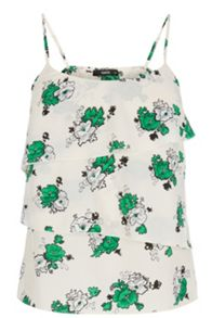 Cute Bunch Tiered Camisole