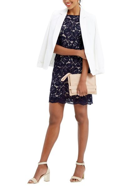 Oasis Lace Bell Sleeve Shift