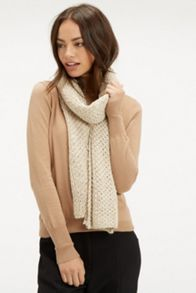 Sequin Knitted Scarf