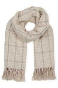 Reversible Check Scarf