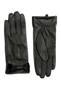 Bow Leather Glove
