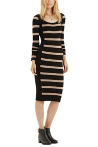 Stripe Colourblock Dress