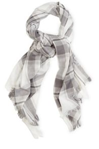 Stephanie Check Scarf