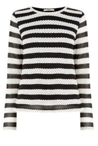 Oasis Lurex Stripe Knit