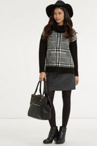 Prince Of Wales Check Jumper