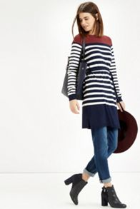 Colourblock Stripe Tunic