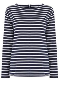 Oasis Stripe Long Sleeve Top