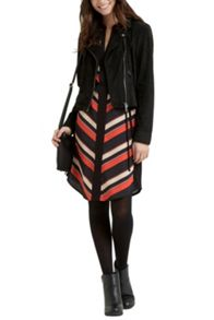 Must have diagonal stripe shirt dress