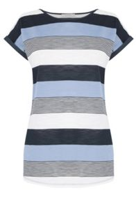 Oasis Broken Bretton Stripe Tee