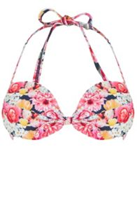 Oasis Digital Floral Bow Front Cup