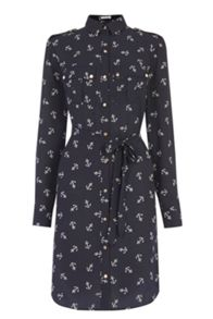 Oasis Anchor Shirt Dress
