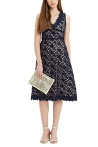 Oasis Limited Edition Lace Midi Dress