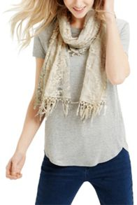 Oasis All Over Lace Scarf