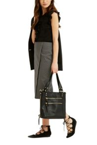 Oasis Geo Wrap Pencil Skirt