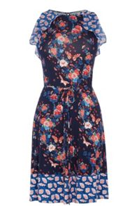 Oasis V&A Harriet Ruffle Dress