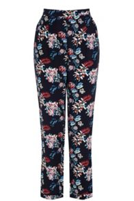 Oasis Tropical Print Trouser