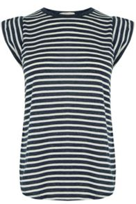 Oasis Stripe Crew Shell