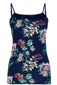 Oasis Malay Placement Print Cami