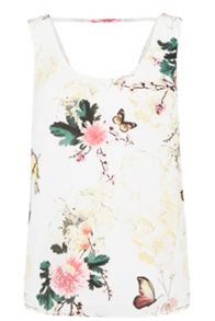 Oasis Botany And Butterfly Vest