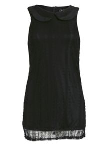 All over lace knee length dress