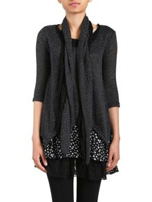 Izabel Polka Dot Layered Top