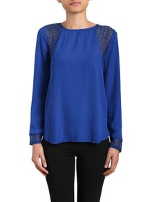 Izabel Contrast Side Panel Top