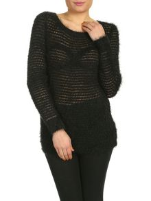 Bobble Knitted Pullover