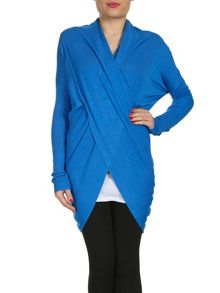 Oversized Wrap Front Top