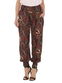Eastern Paisley Print Trousers