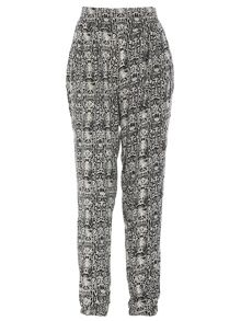 Monochrome Printed Trousers