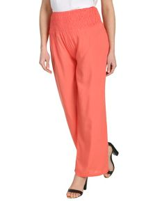 Shirring Waistband Trousers