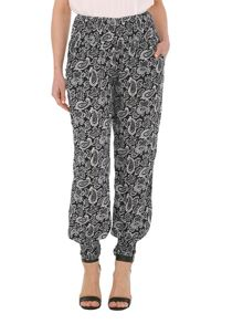 Elasticised Paisley Trousers