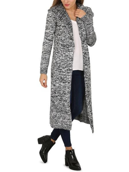 Izabel London Long-Sleeved Knitted Cardigan