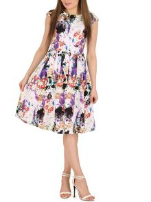 Izabel London Urban Flower Midi Dress