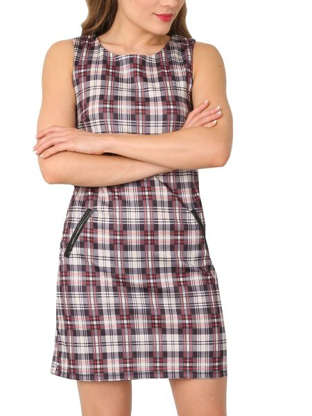 Izabel London Checked Shift Dress