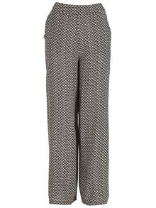 Izabel London Boucle Palazzo-Style Trousers