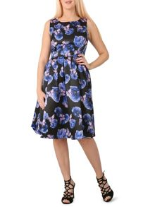 Izabel London Floral Vintage Dress