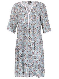 Patterned Smock Tunic