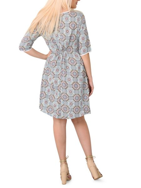 Izabel London Patterned Smock Tunic