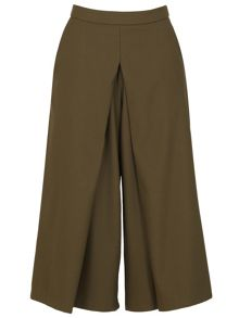 Izabel London Midi-Length Culotte Trousers