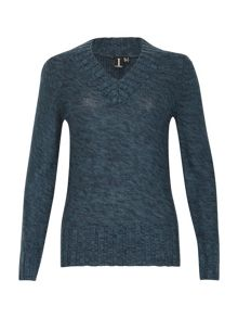 Izabel London Demi-Fit Cuffed Jumper