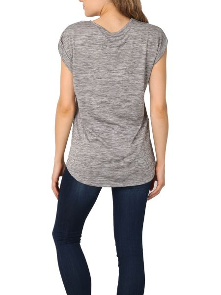 Izabel London Patched T-shirt Top